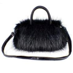 9a28823a0bf 2019 bolsa feminina Fashion Korean Style PU Leather  Faux Fur Tote Clutch  Shoulder Women Messenger Bag AGD Women bag
