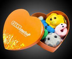 Giant Microbes Heart Burned Gift Box