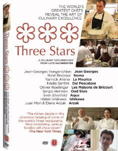 """11 Michelin  """"3 star"""" chefs/restaurants depicted from around the world. An intense look into what it takes to make it into this strata toggling the chefs depicted along with the current head of the Michelin system and it's history in the making and breaking of restaurants."""