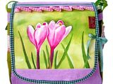 March Heart - HAND PAINTED bag of Leolini ...
