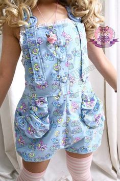 """littlekitty410: """"Eeeep! Overalls are so cute ^.^ """" These are so adorable"""
