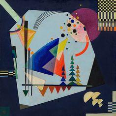 Collection Online   Vasily Kandinsky. Three Sounds (Drei Klänge). August 1926 - Guggenheim Museum