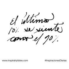 El último 10% se siente como el 90%  #InspirahcionesDiarias por @CandiaRaquel  Inspirah mueve y crea la realidad que deseas vivir en:  http://ift.tt/1LPkaRs