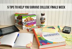 Hard work pays off! Power through finals week with V8 Protein shakes and bars! #LoveV8Protein #collegelife #ad