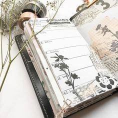 Tim Holtz Cling Stamps--> Wildflowers #beforethepen