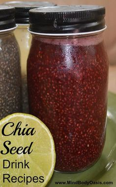 Chia Seed Recipes for Drinks  #paleo #chiaseedrecipes #glutenfree