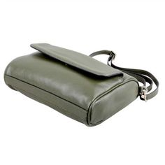 Karla Hanson - Green Crossbody Bag - $99.00/each This Ladies Fashion Crossbody Bag is made from cow leather with a golden finish, approximately 24 x 6.5 x 16.5-65 cm. Presented by www.ecomcreator.com Leather Crossbody Bag, Leather Bag, Ladies Fashion, Womens Fashion, Cow Leather, Bag Making, Lady, Green, Female Fashion
