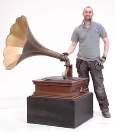 Event Prop Hire: Giant Gramophone