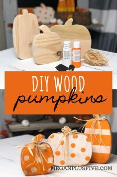 Halloween Crafts, Holiday Crafts, Diy Fall Crafts, Thanksgiving Wood Crafts, Fall Crafts For Adults, Halloween Yard Art, Halloween Wood Signs, Rustic Halloween, Fall Halloween