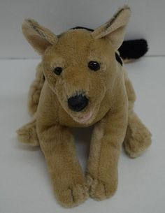 """TOYS R US Animal Alley GERMAN SHEPARD PUPPY DOG  Plush Stuffed Animal 13"""" #toysrus http://stores.ebay.com/Lost-Loves-Toy-Chest/_i.html?image2.x=0&image2.y=0&_nkw=german+shepard"""