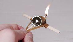How to Make a Mini Crossbow. Let The Battle Begin! | BoredomBash