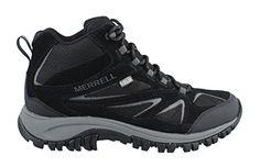 Merrell Mens Phoenix Bluff Mid Waterproof Hiking Boot Black 95 M US * Find out more about the great product at the image link.(This is an Amazon affiliate link and I receive a commission for the sales)
