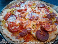 Érdekel a receptje? Hawaiian Pizza, Pepperoni, Mozzarella, Ketchup, Paleo, Healthy Recipes, Tej, Cukor, Food