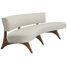 Vladimir Kagan Sofas, Couches   Sofa / Vladimir Kagan / 1950s, USA    Furniture