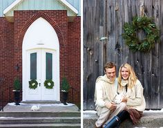 Country charm and pretty plants reach heavenly heights in Alison Westlake's converted rural church home as she gets ready for the holidays.