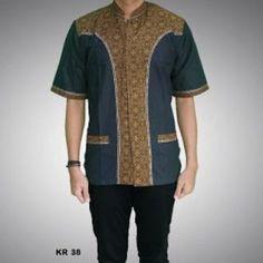 baju koko batik pria Sewing Men, Muslim Men, Batik Fashion, Batik Dress, Shoes With Jeans, African Men, Casual Jeans, Shirt Designs, My Favorite Things
