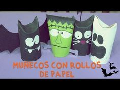 Manualidades para Halloween. Vampiro cartulino - YouTube