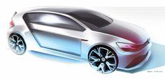 VW GTI concept | Jon Wen