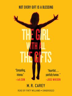 The Girl with All the Gifts is a sensational thriller, perfect for fans of Ender's Game.