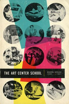 Art Center College of Design Catalog from 1956-1957.