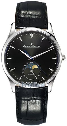 Jaeger LeCoultre Master Ultra Thin Moon 39 1368470 Jaeger Lecoultre Watches, Watch Master, Deep, Smartwatch, Omega Watch, Watches For Men, Moon, Luxury, Technology