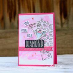 Jan's Creative Corner: Shine Bright Like a Diamond for CTC #323