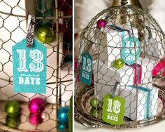 It's Written on the Wall: {13 Designs} Christmas Countdown Calendar