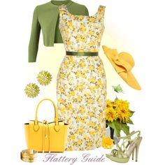 A fashion look from March 2013 featuring Alaïa cardigans, Miu Miu sandals and Michael Kors tote bags. Browse and shop related looks. Cute Spring Outfits, Pretty Outfits, Beautiful Outfits, Cute Outfits, Spring Wear, Derby Attire, Derby Outfits, Classy Outfits, Casual Outfits
