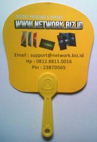 Harga Kipas Promosi Bahan Art Carton | Pabrik Kipas Promosi