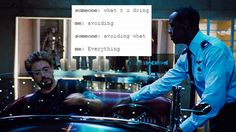 Text posts from the Avengers