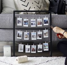 Ultimate Softcase in Schwarz für Ihr iPhone X Cute Room Decor, Diy Wall Decor, Room Decor Bedroom, Home Decor, Polaroid Display, Polaroid Wall, Polaroid Pictures Display, Picture Frame Display, Instax Frame