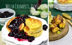 Welsh Crumpets, Pudding