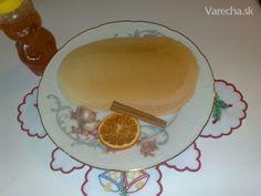 Vianočné oblátky (fotorecept) - Recept Pudding, Plates, Tableware, Desserts, Basket, Flan, Plate, Dinnerware, Postres
