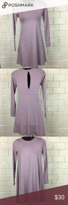 Asos Lavender Skater Dress NWT New dress never worn, in great condition. Light purple color, seams at waist for fit. U.K. Size 6, so That's a 2 us size ASOS Dresses Midi
