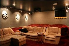 Decorating Ideas For A Home Theater