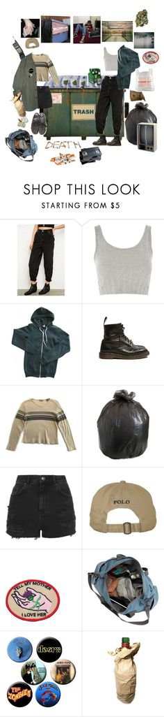 """The boss is a jerk"" by short-skirt-long-jacket ❤ liked on Polyvore featuring Urban Renewal, Topshop and American Apparel"
