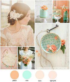 Color Series #9 : Peach + Mint