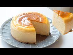 Japanese Souffle Cheesecake スフレチーズケーキの作り方|HidaMari Cooking - YouTube No Bake Vanilla Cheesecake, Creme Brulee Cheesecake, Cheesecake Recipes, Pudding Desserts, Pudding Cake, Great Desserts, Dessert Recipes, Chocolate Caramel Cookies, Cheesecake