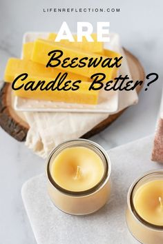 Making scented beeswax candles with essential oils? Use our step by step instructions and valuable tips on how to make scented beeswax candles with essential oils naturally. Paraffin Candles, Wood Wick Candles, Best Candles, Diy Candles, Candle Decorations, Candle Jars, Candle Holders, Expensive Candles, Candlemaking