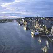 Haugesund, Norway on the southern end where I also have family.