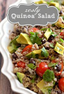 Zesty Cilantro Lime Quinoa Salad Recipe