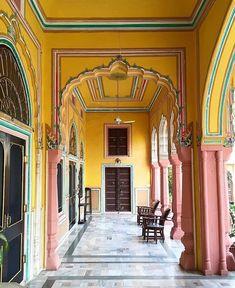 Narain Niwas Jaipur April by lilystockman Best Travel Hashtags, Megan Park, Have A Good Weekend, Color Stories, Great View, Jaipur, Rustic Decor, Travel Inspiration, Architecture Design