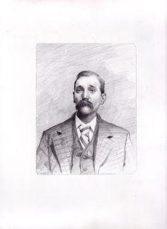 something i drew 'uncle doc' pencil, 2011