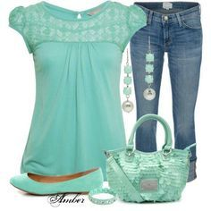 polyvore plus size summer outfits - Google Search