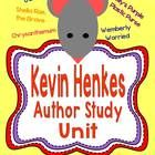 Kevin Henkes Author Study Unit Owen Lillys Purple Purse Sheila Rae, the Brave Wemberly Worried Chrysanthemum CCSS aligned worksheets included in. 2nd Grade Reading, Kindergarten Reading, Teaching Reading, Teaching Ideas, Reading Lessons, Guided Reading, Teaching Resources, Classroom Activities, Book Activities