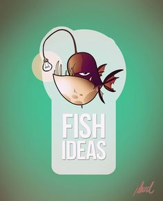 Logo : Fish ideas by jihad eliassa, via Behance