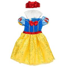 Disney Girls' Snow White Costume