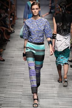 #MFW - Runway #Missoni Spring 2014 Ready-to-Wear Collection