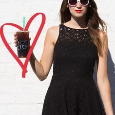 delicious. Plain and simple. #LBD #ColdBrew #OOTD #starbucks #covetme