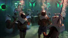 Underwater Nightclub
